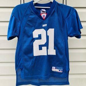 NFL Reebok NY Giants Tiki Barber #21 Footbal
